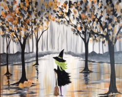 New Event - A Walk in the Rain: Glittery Witch!