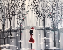 New Event - A Walk in the Snow: Red Glitter!