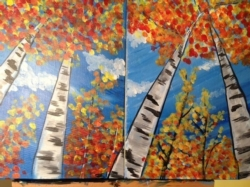 New Event - Birch Trees. Family Class!*