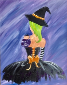 New Event - Ballerina Witch. Includes glitter!