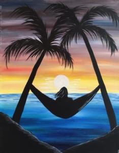 New Event - Beach Hammock. New Painting!