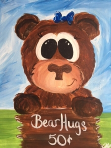 New Event - Bear Hugs. Ages 7+