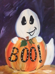 New Event - Little Ghost. Ages 6+. Mini 1 Hour Class