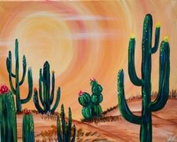 New Event - Cactus Sunset