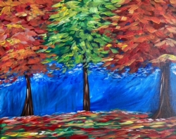 New Event - New Painting! Colors of Autumn