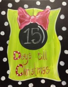 New Event - Countdown til Christmas