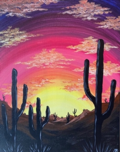 New Event - Desert Dreams