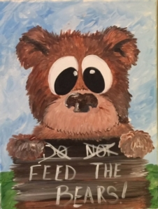 New Event - Kids Camp! Don't Feed the Bears! Includes lunch and crafts!