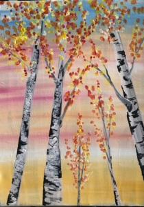 New Event - Fall Aspens. Family Friendly Painting!
