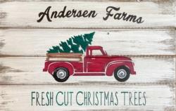 New Event - Custom Wood Sign! Family Tree Farms.