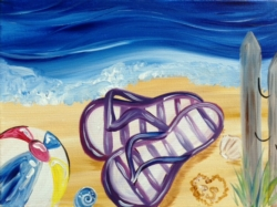 New Event - Spring Break Art Camp! Day 5: Beach Day