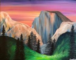 New Event - Half Dome Yosemite