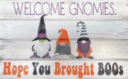 New Event - Halloween Glitter Gnomes: Custom Wood Sign Class!*
