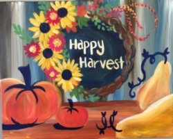 New Event - Happy Harvest. You choose the words!