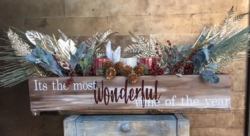 New Event - Holiday Large Centerpiece Box Class. You customize!*