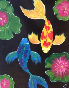 New Event - Koi Fish. Ages 7+