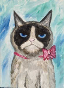 New Event - Kids Camp! Grumpy Cat. Includes lunch and crafts