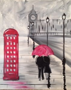 New Event - London Phone Booth. Complimentary glass of wine *