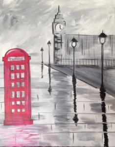 New Event - London Phone Booth
