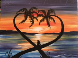 New Event - Lovers Lookout. Date Night! Paint with a partner option*