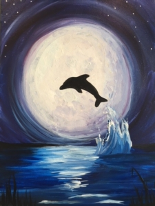 New Event - Moonlit Dolphin. Ages 7+