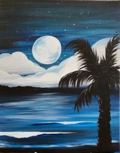 New Event - Night Palm Beach