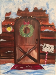 New Event - North Pole Door. Complimentary mimosa!*