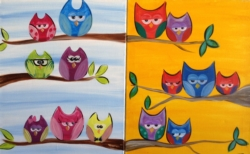 New Event - Owlt on a Limb. Ages 7+. Customize Owls!