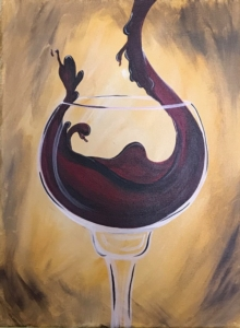 New Event - Perfect Pour. You choose to paint bottle or glass; bring someone special to paint the other half!