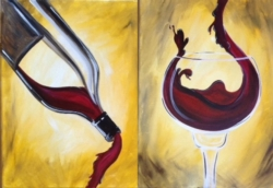New Event - The Perfect Pour. Paint with a partner!*