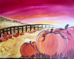 New Event - Pumpkin Patch. Complimentary glass of wine*