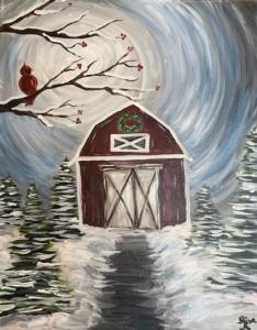 New Event - Rustic Winter Barn