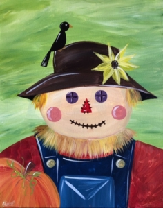 New Event - Scarecrow. Ages 7+ Choose colors!