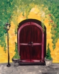 New Event - Tuscan Door. Complimentary glass of wine!