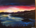 New Event - Sunset over Tahoe