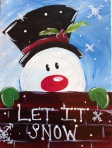 New Event - Let it Snow