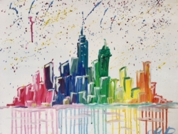 New Event - Splash City. You choose city & colors!