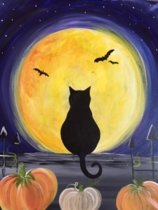 New Event - Spooky Cat. Ages 7+