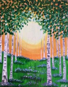 New Event - Springtime Birches