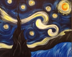 New Event - Starry Night. *Complimentary mimosa