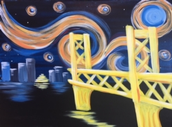 New Event - Starry Sacramento. Complimentary glass of wine*