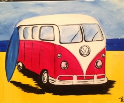 New Event - Beach Bus. Pizza & Pinot Night!