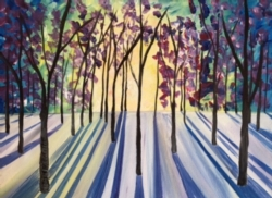 New Event - Tree Shadows. Complimentary glass of wine*