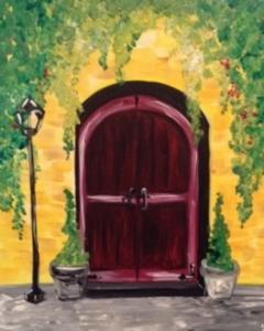 New Event - Tuscan Door