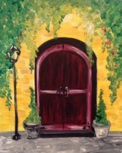 New Event - Tuscan Door. Choose door color!