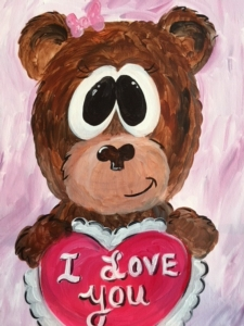 New Event - Valentine Bear. Ages 7+