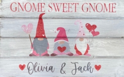 New Event - Valentine Glitter Gnomes. Custom Wood Sign Class!*