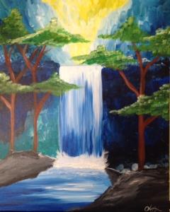 New Event - Zen Falls