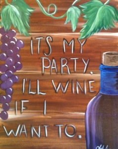 New Event - Pick Your Wine Quote! Complimentary glass of wine*