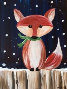 New Event - Winter Fox. Ages 7+ Winter Break Class